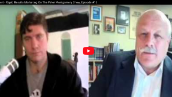 Gerry Robert Interview - Rapid Results Marketing, Episode #19 On The Peter Montgomery Show
