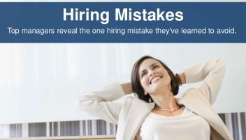 Top 10 hiring mistakes - #6 - hiring ourselves