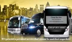 cheap bus hire