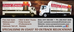 Sunwest Removals Rockingham