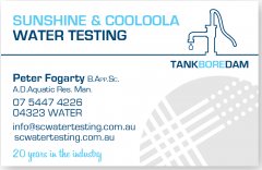 Sunshine & Cooloola Water TestingNoosa Heads, QLD 4567