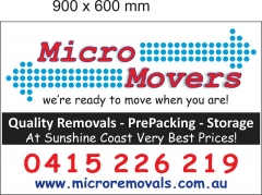 Micro Movers - Removals & Storage