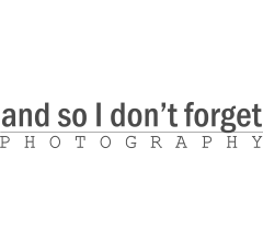 And so I don't forget Photography