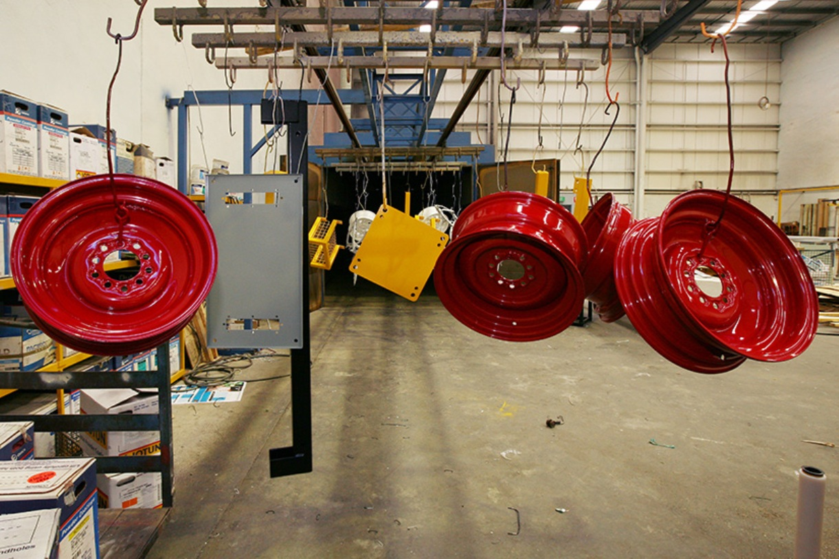 Powder Coating Wheels gallery